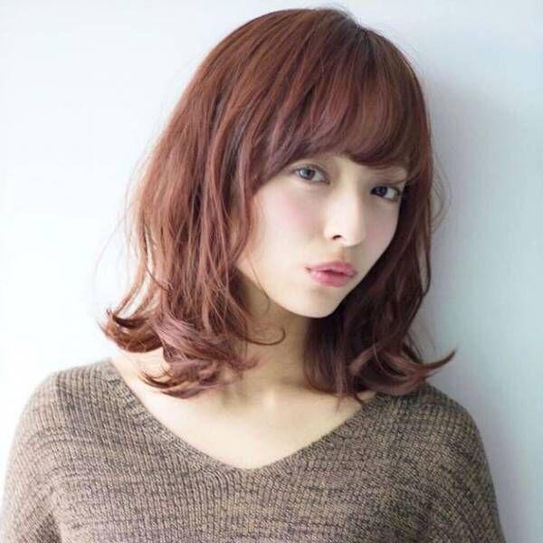 艶っぽく大人っぽい♡暖色系ほっこりヘアカラーで叶える秋冬スタイル!