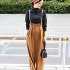 普段着スタイルの強い味方♪ 楽ちんかわいいサロペットジャンパースカート