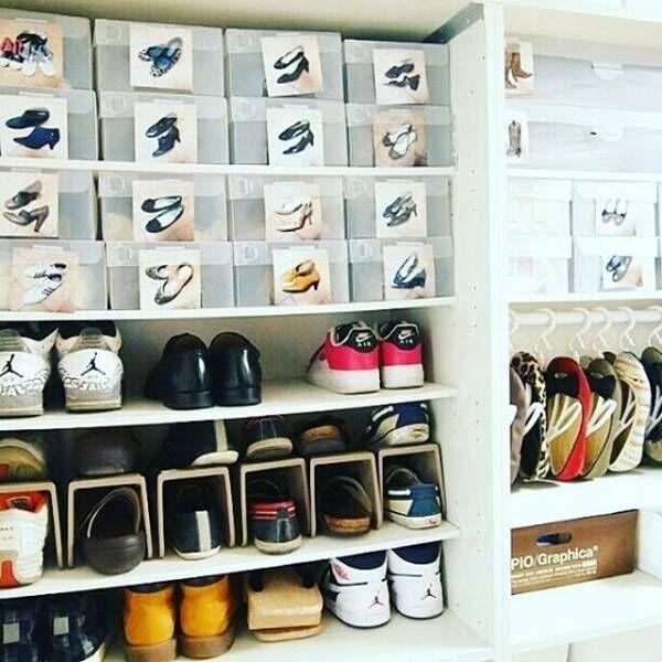 大容量の靴箱は理想的2