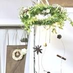 天井から吊るして華やかさをプラス!可愛らしいフライングリース集