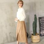 今季大注目♡タイトなシルエットのスカートを取り入れたコーデ15選