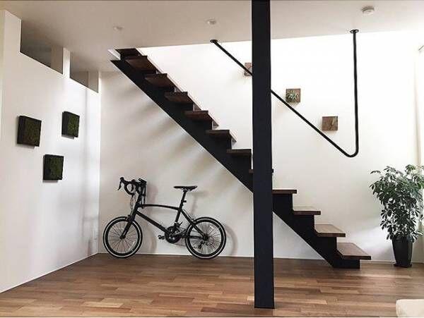 美しいフォルムをインテリアに☆オシャレな自転車置き場&ディスプレイをご紹介