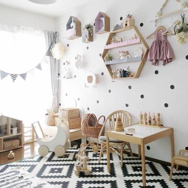 真似したい♡キッズスペースのインテリア&おもちゃ収納アイデアをご紹介!