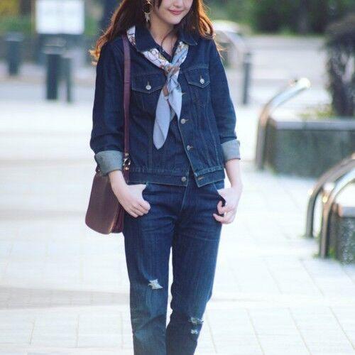 今注目の「スカーフスタイル」◆WEARで見つけたおしゃれな使い方まとめ