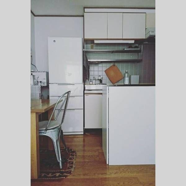 キッチンは清潔に無駄なく