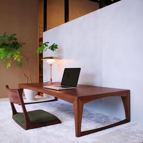 座椅子で和風を意識した空間3