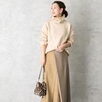 スカートコーデも温かく♪ウールスカートで作る大人女子コーデ特集