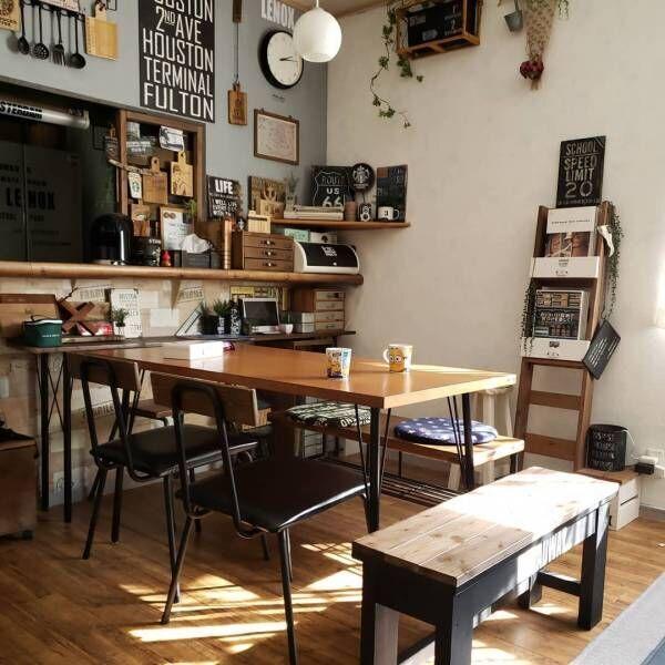 「男前×カフェ風」でこだわりと遊び心を演出!渋かっこいいインテリアをご紹介