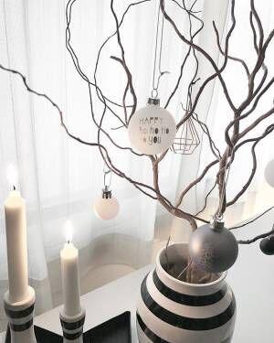 大人シックなクリスマスツリー3