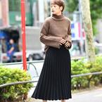 カジュアルにもフェミニンにも♡真似したい「ロングスカート」のお手本コーデ