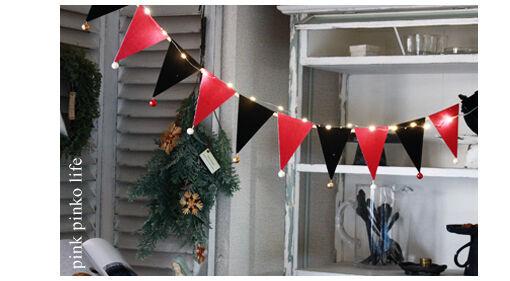 赤×黒で大人クリスマスに