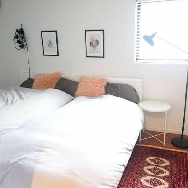 素敵なベッドルームで良い夢を♪インスタグラマーに学ぶ海外&ホテル風のお洒落な寝室♡