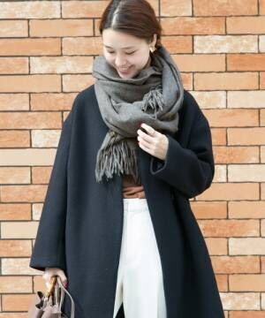 [URBAN RESEARCH] TWEED MILLLambswool Stole