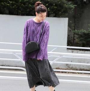 チェック・花柄・レオパード・ドット♡この秋冬の柄物スカートはどれをGETする?