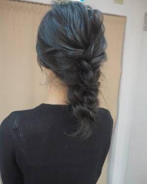 冬のまとめ髪アレンジ3