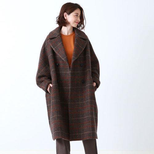 季節感をアピール♪「チェック柄コート」で大人の秋冬コーデを今っぽく!