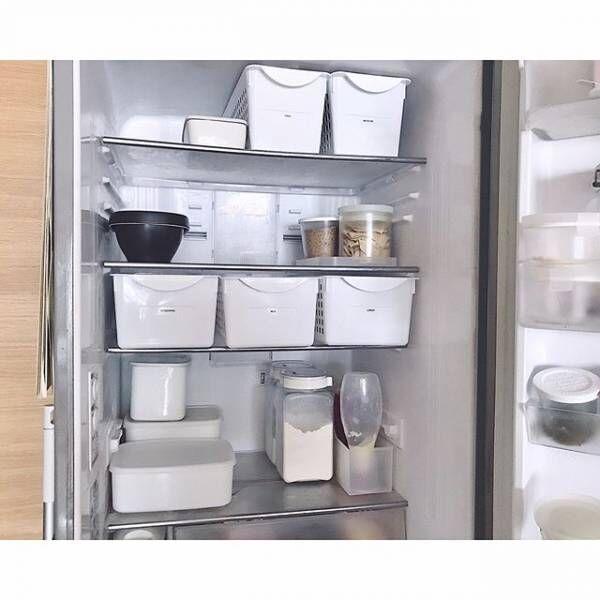 冷蔵庫の収納アイデア4