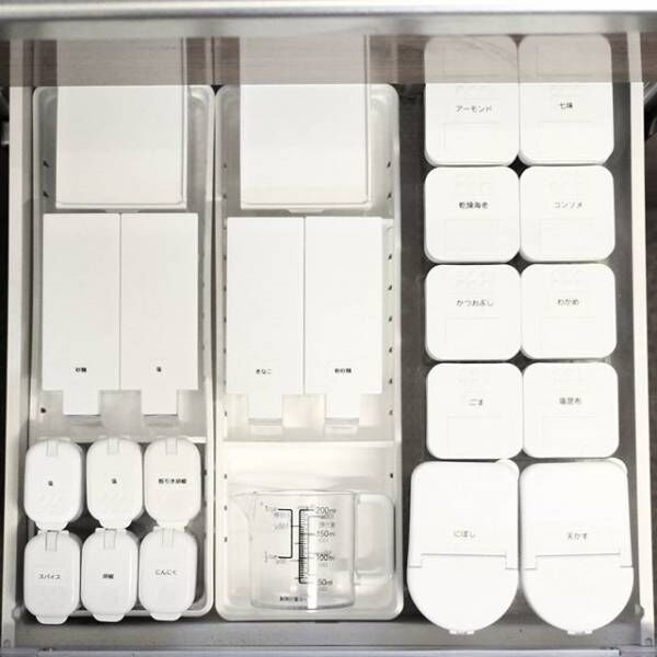 乾物&調味料の収納アイデア5