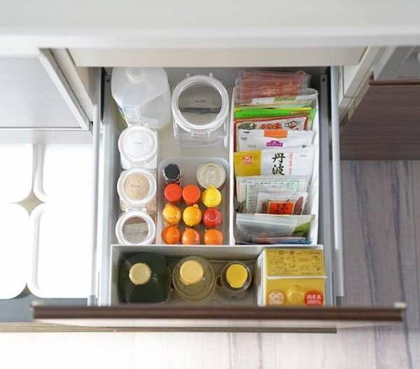 乾物&調味料の収納アイデア2