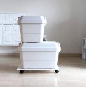 屋外でも使用できる!丈夫で便利な【無印良品】の頑丈収納ボックス
