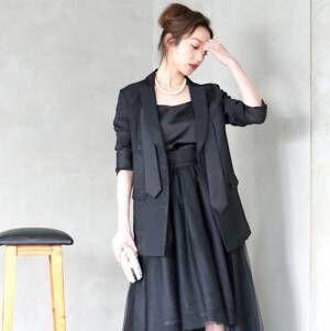 周りと差がつく♡オシャレ上級者が秋冬に選ぶ、大人のお呼ばれドレス決定版!
