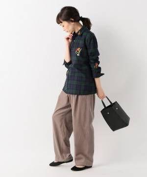 [JOURNAL STANDARD] 【BRUTA/ブルータ】チェックシャツ
