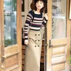 着飾りすぎないのが◎簡単に真似できるシンプルなスカートコーデ15選