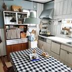 簡単に模様替え♪「テーブルクロス」を取り入れてお部屋を素敵に変身!
