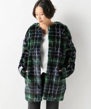 【jakke/ジャッキー】PRINTED FAUX FUR:コート