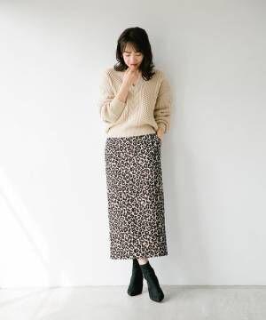 PRCレオパードナロースカート