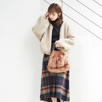 リーズナブルに大人可愛いをGET♪【natural couture】のアウター&ワンピース特集