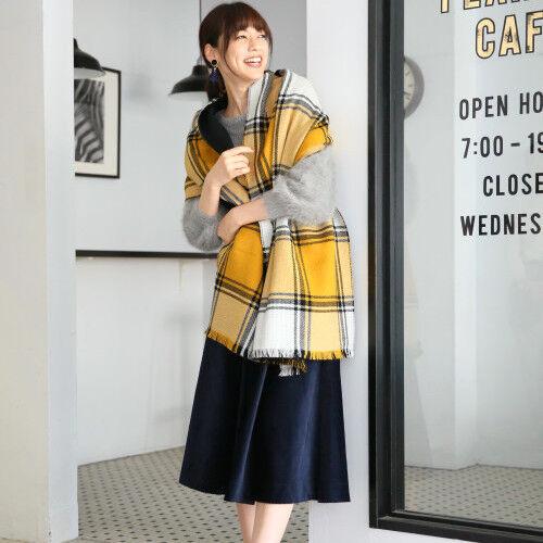 【GLOBAL WORK】のプチプラスカートで作る☆参考にしたい冬の着こなし15選
