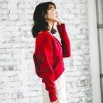 女っぷりを上げる!華やかで女性らしい冬の「赤コーデ」15選をご紹介