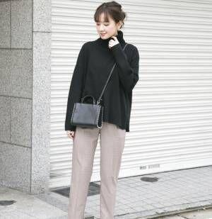 冬に着る「黒」は大人可愛い♡「黒」のアイテムを使ったおすすめコーデ集