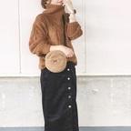 【GU】の使える冬物スカート!毎日コーデにピッタリな着こなし術をご紹介★
