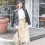 簡単にスタイルアップが叶う♪《ハイウエストパンツ&スカート》特集!
