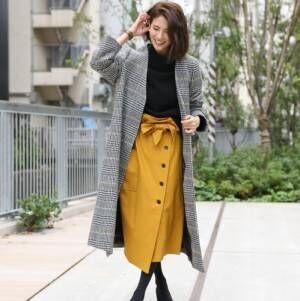 ボタン付きで今っぽく♡オトナ女子のボタンデザイン「スカート」コーデ15選