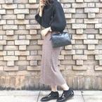【GU】のスカート特集♡この冬ゲットしたいのは着回し力&季節感たっぷりな一枚!