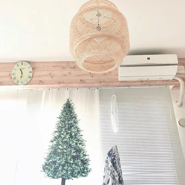 ツリータペストリーのあるクリスマス風景♡2