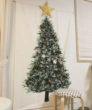 ツリータペストリーのあるクリスマス風景♡3