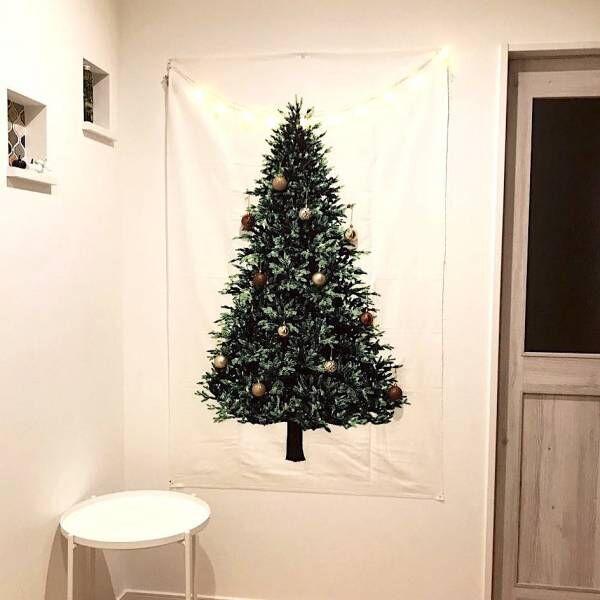 クリスマスを鮮やかに彩る♡ツリータペストリーのあるおしゃれな空間