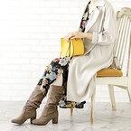 この冬は《ロングブーツ》人気が再燃!今年らしいファッションで楽しもう♪