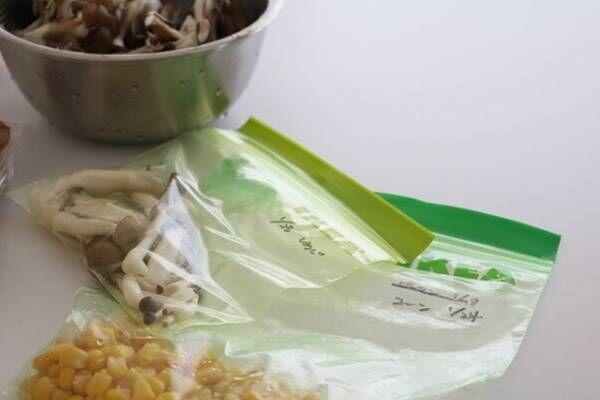 食材の保存に3