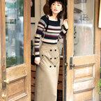 「女っぽさとかっこよさ」のあるスタイルに♪30代からのスカートコーデ16選◆