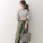 コーデを可愛くアップデート☆大人が着こなす「バルーン袖ニットトップス」特集