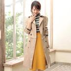 ワンランク上の通勤コーデ!「カラースカート」で女性らしさアップ♡