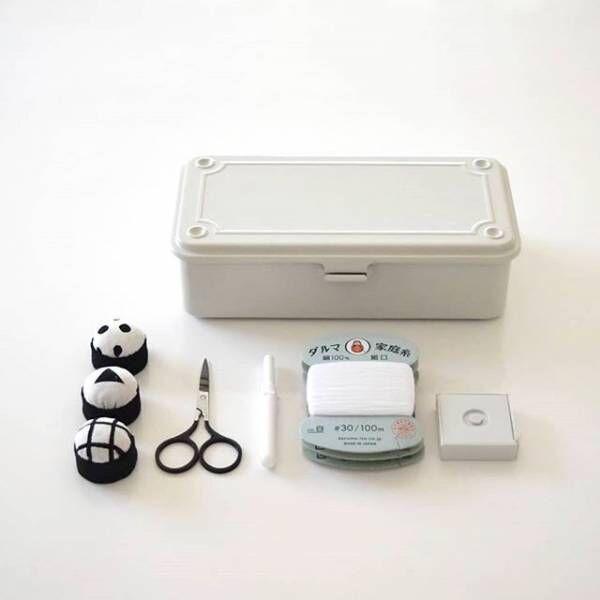 【無印良品】のスチール工具箱の活用法☆メイク道具や裁縫道具の収納に活躍!