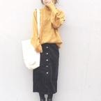 プチプラなのに高見え♪【GU】タイトスカートで作る大人女子コーデ特集