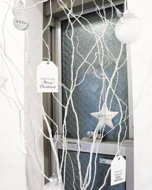 枝ツリーでクリスマスを楽しもう
