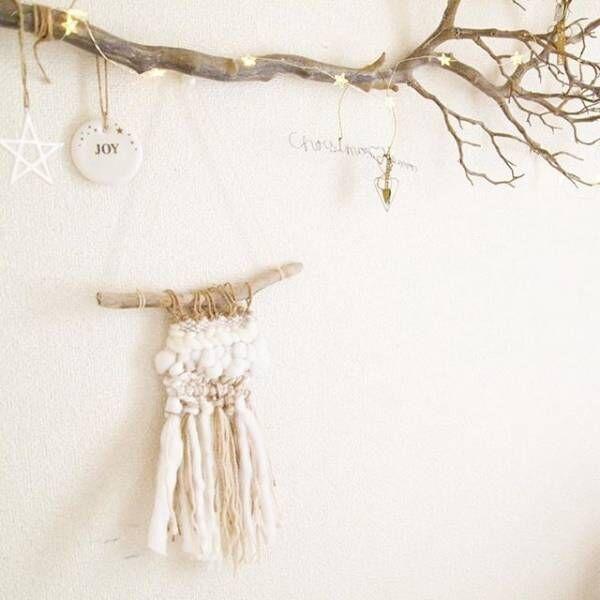 枝ツリーでクリスマスを楽しもう4